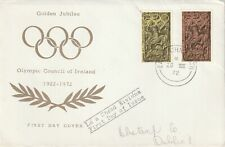 1972 Ireland FDC cover Olympic Games