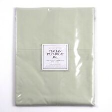 Restoration Hardware Italian Paradigm 464 Percale King Pillowcase Set Celery