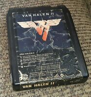 Van Halen II 2 - 8 track tape tested LATE NITE BARGAIN ed EDDIE EDWARD wolfgang