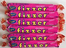 24 x Strawberry Beacon Fizzer Candy Buffet Fizzers Party Favors Bulk Lollies