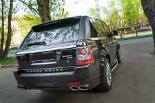 Range Rover Sport rear bumper diffuser trim spoiler 2009 2010 2011 2012 2013 frp