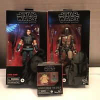 Star Wars Black Series Mandalorian LOT - Mandalorian, Cara Dune & The Child