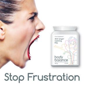 BODY BALANCE ANTI ANGER CALMING PILLS STOP FRUSTRATION IRRITATION FEEL CALMER