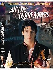 All The Right Moves (DVD, 2003)*R4*Tom Cruise