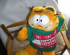 "Vintage 12"" Dakin Garfield Gimme Christmas Plush 1978- 1981 Boys & Girls 3 +"