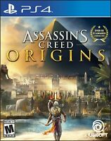 PLAYSTATION 4 GAME - ASSASSIN'S CREED ORIGINS GREAT CONDITION IN ORIGINAL CASE