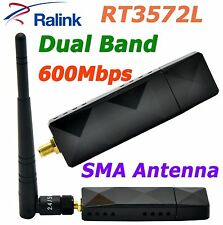 RALINK RT3572L 802.11 WiFi USB Adapter With SMA 5dBi WiFi Antenna for Samsung TV