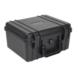 Tool Box ABS Plastic Storage Toolbox Sealed Tool case With Foam Inside 4 colors