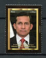 Peru 2018 MNH Ollanta Humala 1v Set Presidents Politicians Famous People Stamps