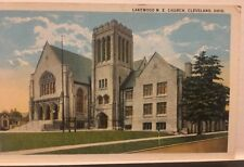 Lakewood M E Church Cleveland Ohio Vintage Unposted Postcard