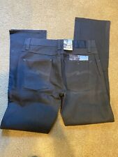 Nudie Jeans 32x32 Slim Jim Dry Coated Stretch New With Tag   Gray Rare