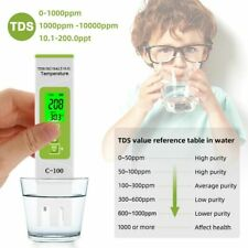 Temperature Meter Digital Water Quality Tester Household Pools Drinking Water