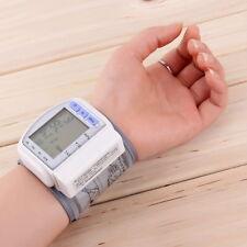 New Digital Automatic Wrist Blood Pressure Pulse Monitor Heart BPat Meter YT