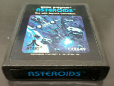 Vintage Asteroids Game Cartridge for the Atari 2600