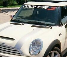 "Mini cooper S Banners Windshield Decals Cars Stickers 4""x40"""