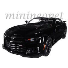 MOTORMAX 79351 2017 CHEVROLET CAMARO ZL1 1/24 DIECAST MODEL CAR BLACK