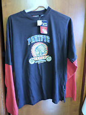 Vintage New Nos Mens Pacific Flyer Gear Long Sleeve Shirt Indian Size Large