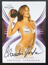 Claudia Jordan 2014 Bench Warmer Autograph Auto #35 - Nice Card