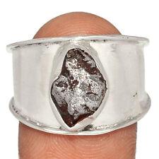 Meteorite Campo Del Cielo, Argentina 925 Silver Ring Jewelry s.9.5 BR64776 293I