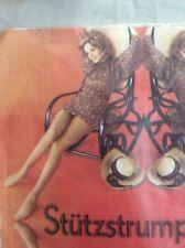 Vintage Stutzstrumpfhose Nude Nylon pantyhose With Model One Size