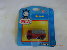 THOMAS AND FRIENDS TRAIN ERTL DIECAST LORRY 2 MISMARKED GEORGE  NEW IN BLISTER P