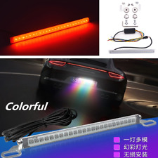 Colorful 24-SMD LED Car SUV License Plate Light Backup Brake/Turn Signal Lamp