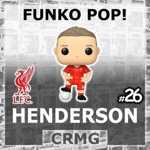 FUNKO POP VINYL JORDAN HENDERSON #26 LIVERPOOL LFC FOOTBALL SOCCER EPL