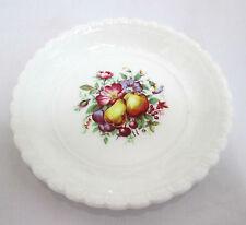 "Coalport Pin Dish 4-7/8"" diam Bone China England Fruit & Floral Vintage"