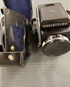 [In Case] Rollei Rolleiflex SL66 Camera + Planar 80mm f/2.8 Lens