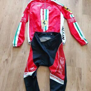 Italian Cycling jersey cervelo Ferrari de rosa Castelli