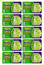 10 Peeps Marshmallow Green Monsters Gluten Free Halloween LE Candy 1.125 OZ