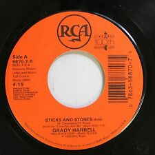 Soul 45 Grady Harrell - Sticks And Stones / About Face On Rca