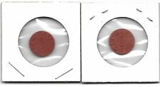 Vintage OPA Red Point Ration Tokens World War II  ( XT )