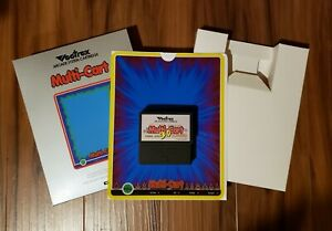 Sean Kelly Vectrex Multi-Cart NEW VERSION 3.0 - BOXED WITH OVERLAY - BRAND NEW!