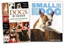 (Lot of 2) Dogs by Design by Ilene Hochberg & Small Dog Big Dog Barbara Karant