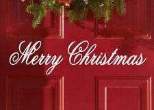 Merry Christmas Holiday Xmas Seasonal Decor Vinyl Wall Quote Sticker Decal