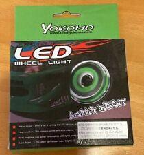 Yokomo RC Drift Car Green Wheel Led Lights