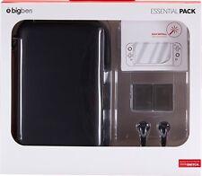 Nintendo SWITCH Starter Pack 1 Essential schwarz Tasche + Zubehör Bigben