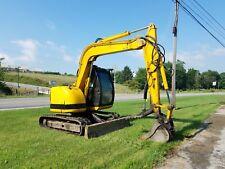2006 JCB JZ70 Hydraulic Midi Excavator Track Hoe Used Construction Machine...