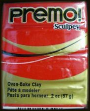 Premo Sculpey Polymer Clay 57g (2oz) Cadmium Red