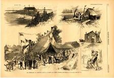 The Celebration at Yorktown - Arrival of Troops and other Incidents - 1881
