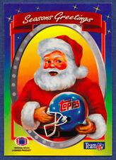 1994 NFL Properties Santa Claus Christmas 11 Card Set Jim Kelly