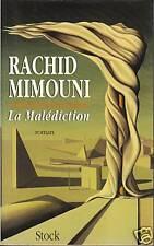 Livre la malédiction Rachid Mimouni book