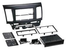 Doppel DIN KFZ Radio Blende Rahmen 2DIN Ablagefach Mitsubishi Lancer CYO ab 2007