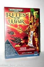 WARHAMMER 40.000 RITES OF WAR GIOCO NUOVO SIGILLATO PC ED ITALIANA BIG BOX
