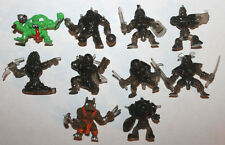 Moose Fistful of Power Mini Action Figure Lot #1 of 10x Figures
