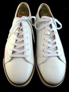 "NEW Allen Edmonds ""PORTER DERBY"" Men's Leather Sneakers 9.5 D  White (669)"