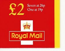 1999 GB QE2 ROYAL MAIL £2 DEFINITIVE STAMP BOOKLET SG FW1 Y1677L QUESTA  MNH