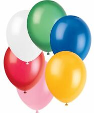 """50 Standard colour mix Latex Balloons -Helium quality,12"""""""