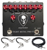 New Amptweaker Tight Metal Pro II Distortion Guitar Effects Pedal